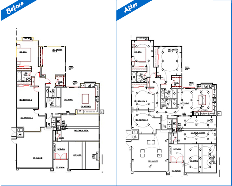 Electrical Drawings - VMD CAD & Graphic Technologies Pvt Ltd